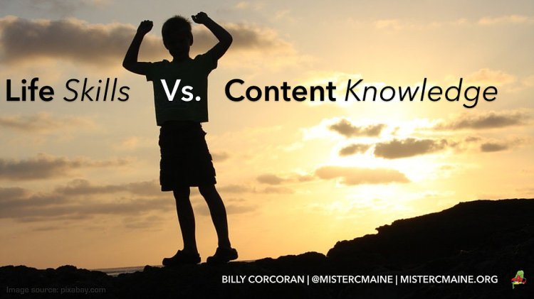 life skills vs content knowledge