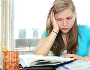 student struggling with reading