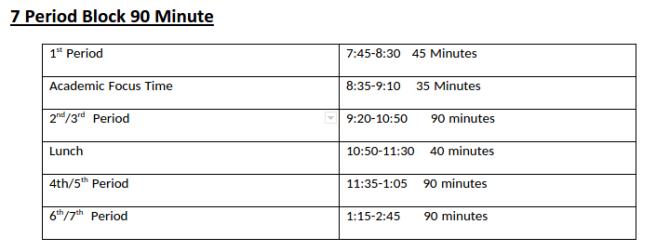 block-schedule